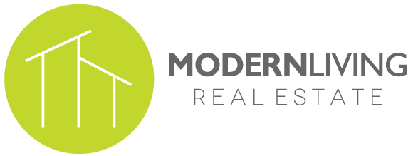Modern Living Real Estate Logo