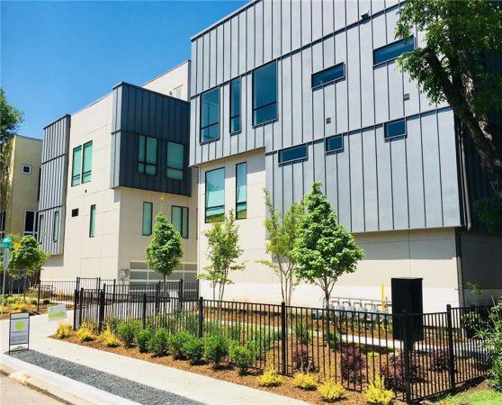 Modern Dallas Condo Townhouse Listing
