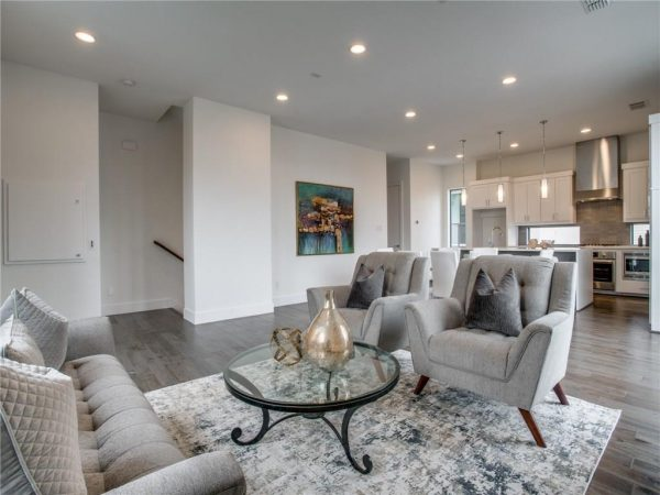 Modern Dallas Condo Townhouse Listing