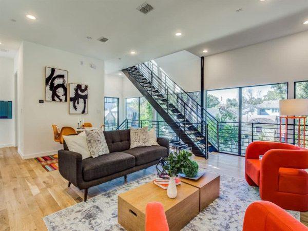 Modern Dallas Townhome Listing