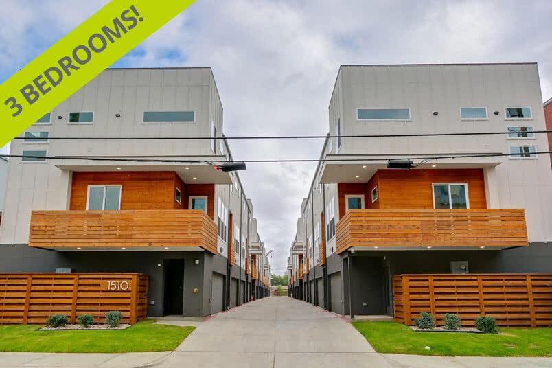 Modern Dallas Townhouse property listing