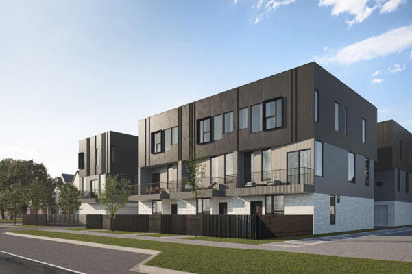 Towns on Biship Modern Townhomes for Sale